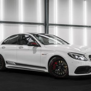 amg c63s front