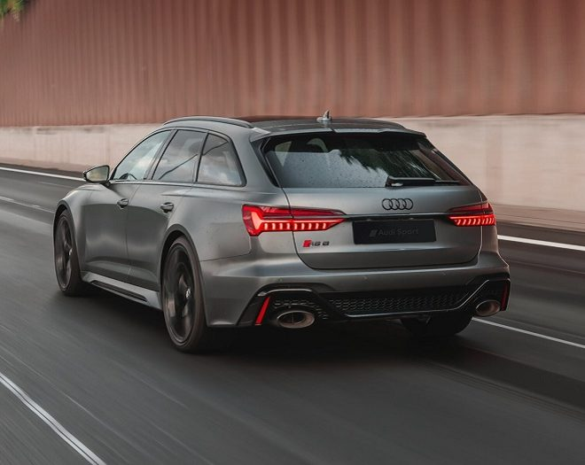 Audi RS6 heck