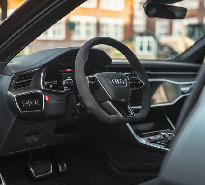 Audi RS6 interieur